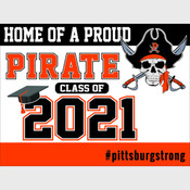 Class of 2021 Yard Signs - Pittsburg Schools