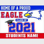 Class of 2021 Yard Signs - Clay/Concord School